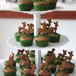 Fawn Cupcakes