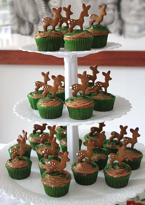 Fawn Cupcakes