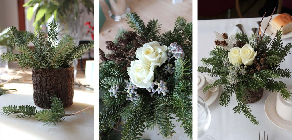 Woodland Winter Table Decor