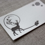 Winter Deer Letterpressed Holiday Gift Tags