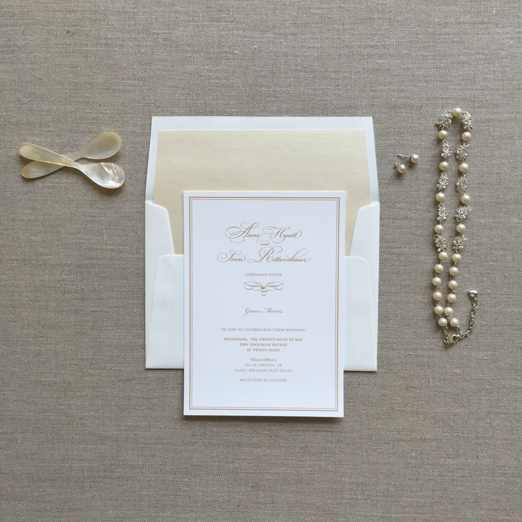 Anne and Sven's Invitation
