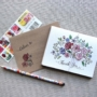 Floral Bouquet Thank You Notes