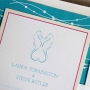 seahorse wedding invitations