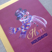 Snowman Holiday Cards
